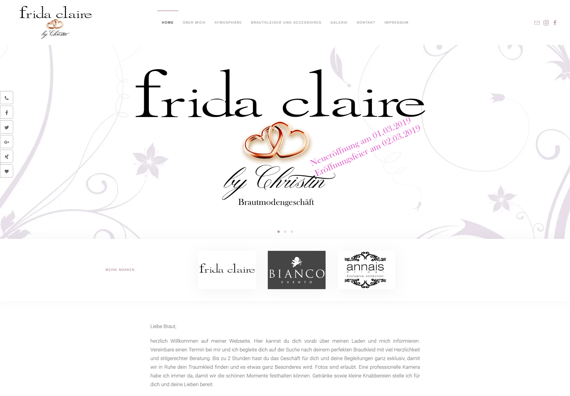 Frida Claire By Christin